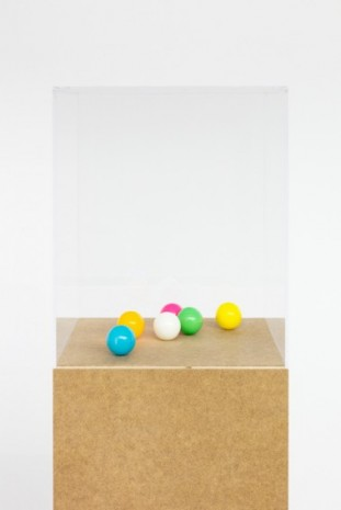 Karin Sander , Tischtennisbälle, poliert; Table Tennis Balls, Polished, 2009 , Esther Schipper