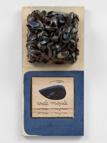 Marcel Broodthaers , Roule Moule, 1967 , Simon Lee Gallery
