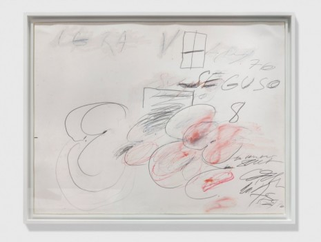 Cy Twombly , Seguso, 1976 , Simon Lee Gallery