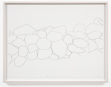 Spencer Finch, Stone Wall, Litchfield County, CT 1, 2012, Galerie Nordenhake