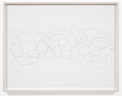 Spencer Finch, Stone Wall, Litchfield County, CT 3, 2012, Galerie Nordenhake