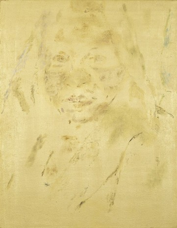Maaike Schoorel, Portret van Zena in Goud (Portrait of Zena in Gold), 2012, Maureen Paley