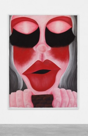 Rebecca Ackroyd , Blusher, 2020 , Peres Projects
