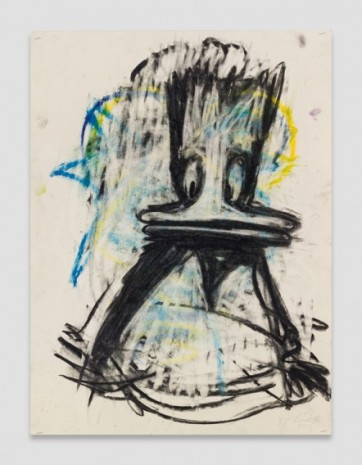 Joyce Pensato , Let's Blow this Joint 6, 2017 , Petzel Gallery