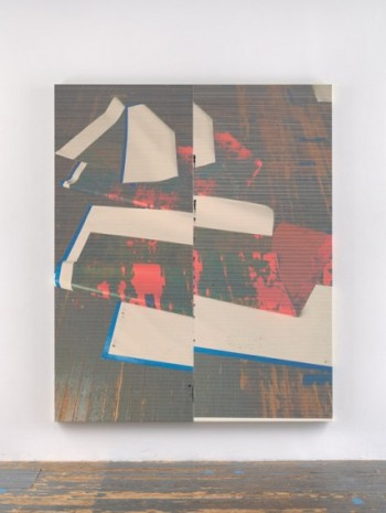 Wade Guyton, Untitled, 2020, Galerie Chantal Crousel