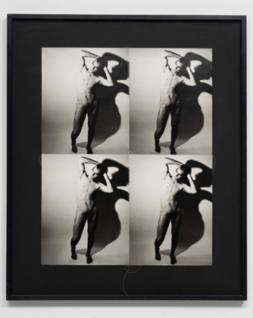 Andy Warhol, Nude Man Standing, 1986, Galerie Chantal Crousel