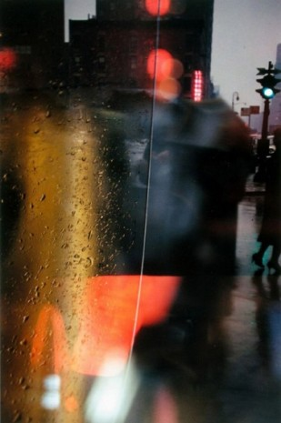 Saul Leiter, Walk with Soames, 1958 , Howard Greenberg Gallery