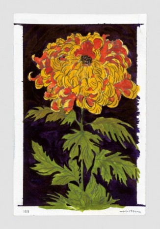 Marcel Dzama, The flower of Fez, 2020, David Zwirner