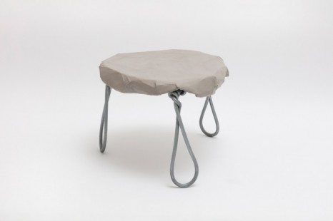 Faye Toogood, Maquette 264 / Wire & Card Side Table, 2020 , Friedman Benda