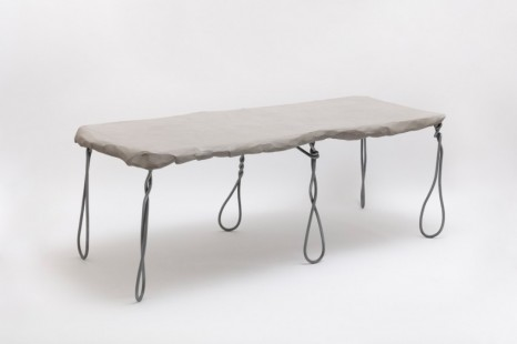 Faye Toogood, Maquette 243 / Wire & Card Table, 2020 , Friedman Benda