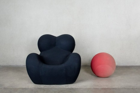 Gaetano Pesce for B&B, Italy, Up5 armchair with Up6 pouff from Casa Carenza, Padua, 1969 , Friedman Benda