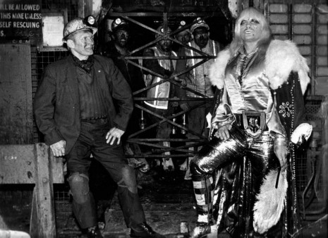 Jeremy Deller, Adrian Street with his father at the pithead of Bryn Mawr Colliery, Wales, 1973, , The Modern Institute