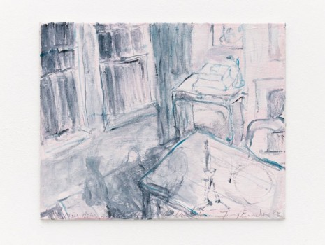 Tracey Emin, My Mums Ashes and The Ghost of Docket, 2020 , White Cube