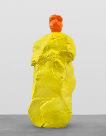 Ugo Rondinone, orange yellow monk, 2020, Galerie Eva Presenhuber