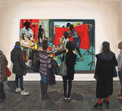 Joe Fig, Kerry James Marshall: The Studio/Met Breuer, 2020, Cristin Tierney
