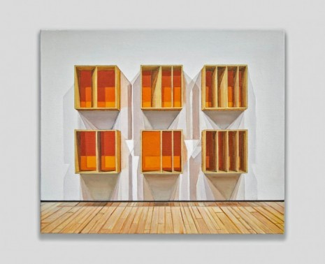Joe Fig, Donald Judd/MoMA (Pandemic), 2020, Cristin Tierney