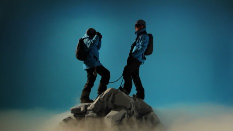 John Wood and Paul Harrison, Unrealistic Mountaineers, 2012, Cristin Tierney