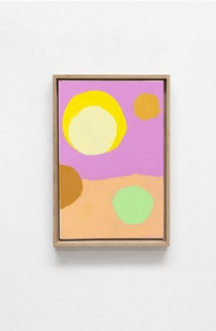 Etel Adnan, Satellites 12, 2020, Galerie Lelong & Co.