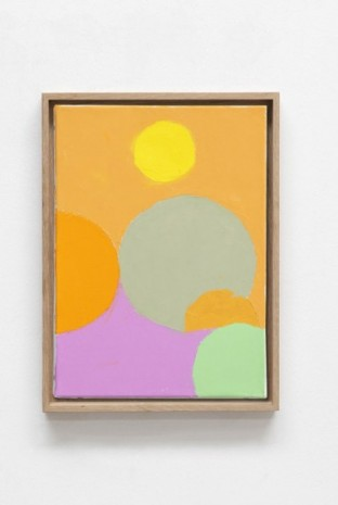 Etel Adnan, Satellites 17, 2020, Galerie Lelong & Co.