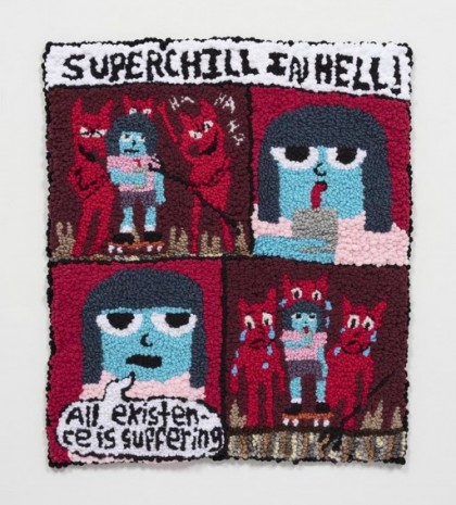 Hannah Epstein, Superchill In Hell: Existence Is Suffering, 2020, Steve Turner