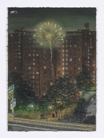 Stipan Tadić, Fireworks Above the LES Projects, 2020, Steve Turner