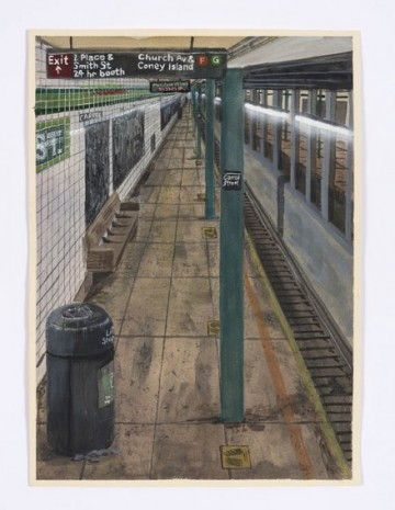 Stipan Tadić, Empty Subway, 2020, Steve Turner