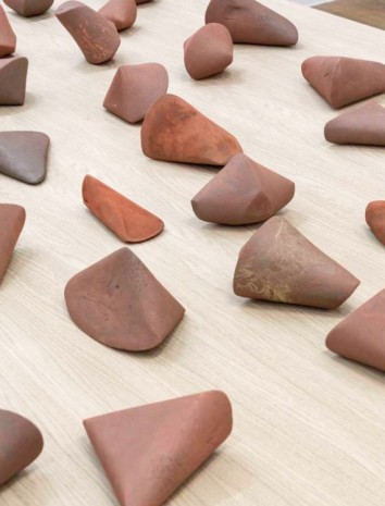 Gabriel Orozco, Orthocenter (detail), 2012, Galerie Chantal Crousel