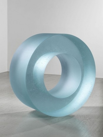 Ann Veronica Janssens, Blue Glass Roll 405/2, , 2019, Alfonso Artiaco