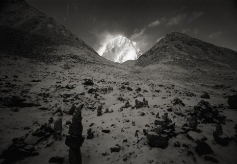Kenro Izu, Kailash #75, Tibet, 2000, Howard Greenberg Gallery