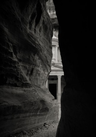 Kenro Izu, Petra #16, Jordan, 1995, Howard Greenberg Gallery