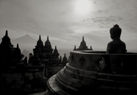 Kenro Izu, Borobudur #15, Indonesia, 1996 , Howard Greenberg Gallery