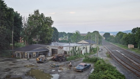 Gregory Crewdson, The Taxi Depot, 2018 - 19, Gagosian