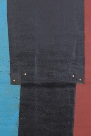 Theaster Gates, Flag Sketch, 2020, Gagosian