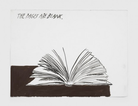 Raymond Pettibon, No Title (The pages are), 2020, Regen Projects