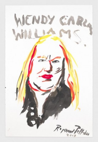 Raymond Pettibon, No Title (Wendy Carlos Williams.), 2019, Regen Projects