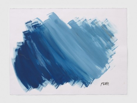 Raymond Pettibon, No Title (Fluff.), 2020, Regen Projects