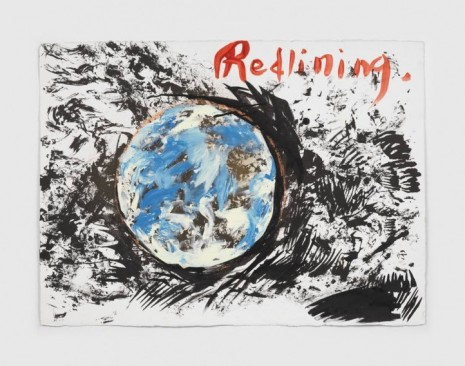 Raymond Pettibon, No Title (Redlining.), 2020, Regen Projects