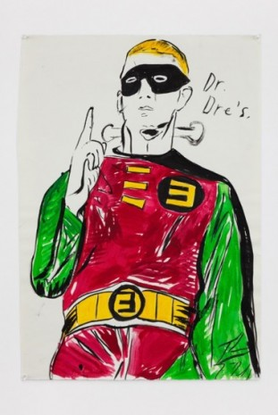 Raymond Pettibon, No Title (Dr. Dre's.), 2020, Regen Projects