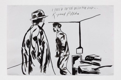 Raymond Pettibon, No Title (I pass'd th'), 2020, Regen Projects