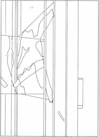 Louise Lawler, Water to Skin (traced), 2016/2020, Galerie Buchholz