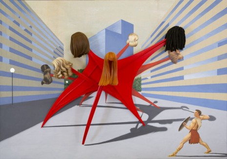 Jim Shaw, One Percent for Art, 2020, Simon Lee Gallery