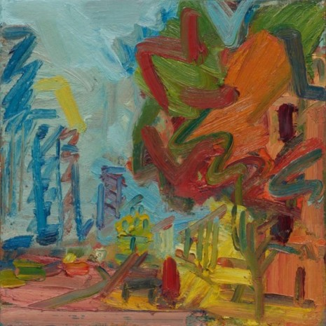 Frank Auerbach, Another Tree in Mornington Crescent II, 2007 , Luhring Augustine