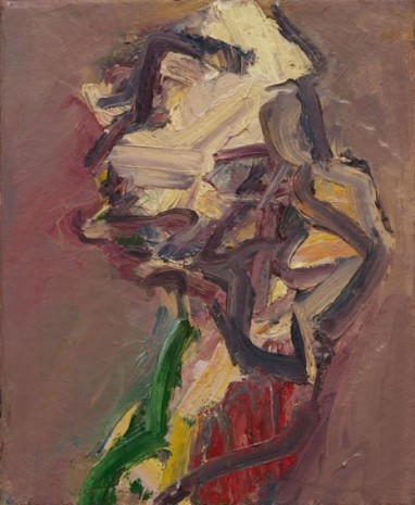 Frank Auerbach, Catherine Lampert - Profile, 1997 , Luhring Augustine