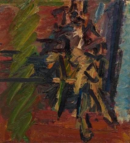 Frank Auerbach, Catherine Lampert Seated, 1994 , Luhring Augustine