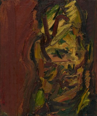 Frank Auerbach, Head of Catherine Lampert, 2000 , Luhring Augustine
