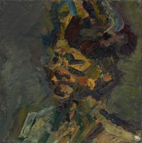 Frank Auerbach, Head of Julia, 1985 , Luhring Augustine