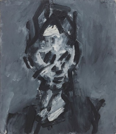 Frank Auerbach, Head of Shane Dunworth, 1986 , Luhring Augustine