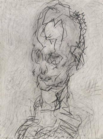 Frank Auerbach, Head of William Feaver, 2003 , Luhring Augustine