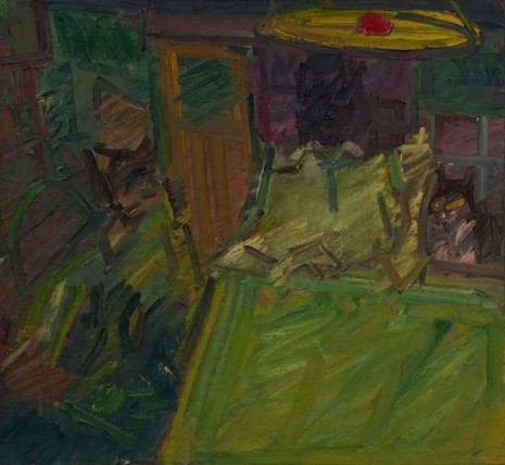 Frank Auerbach, Interior Vincent Terrace II, 1984 , Luhring Augustine