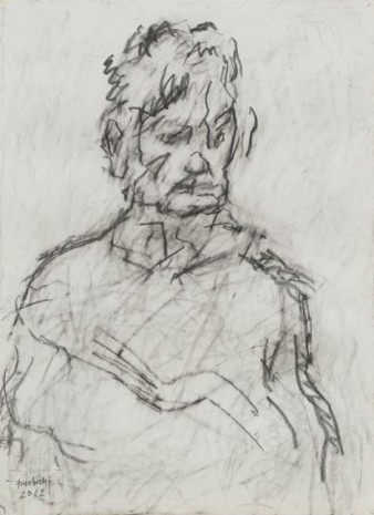 Frank Auerbach, Portrait of Julia, 2012 , Luhring Augustine